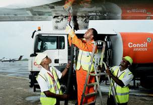 Conoil acquires aircraft refueling browsers