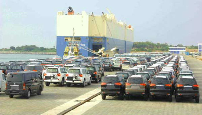 Nigeria spent N148 billion to import used Cars in 3 months
