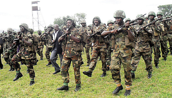 Soldiers take over streets of Abuja due to #EndSARS protests