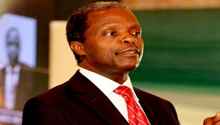 V.P Osinbajo Says 7,000 Megawatts Of Electricity On The Way
