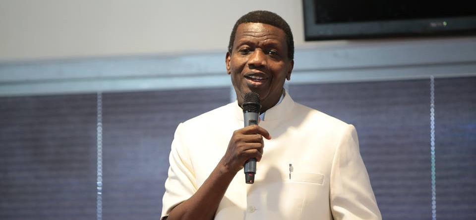 #EndSARS: I support the youths in this peaceful protests - Pastor Adeboye
