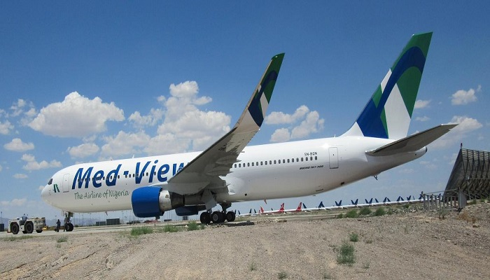 A Med-View aircraft
