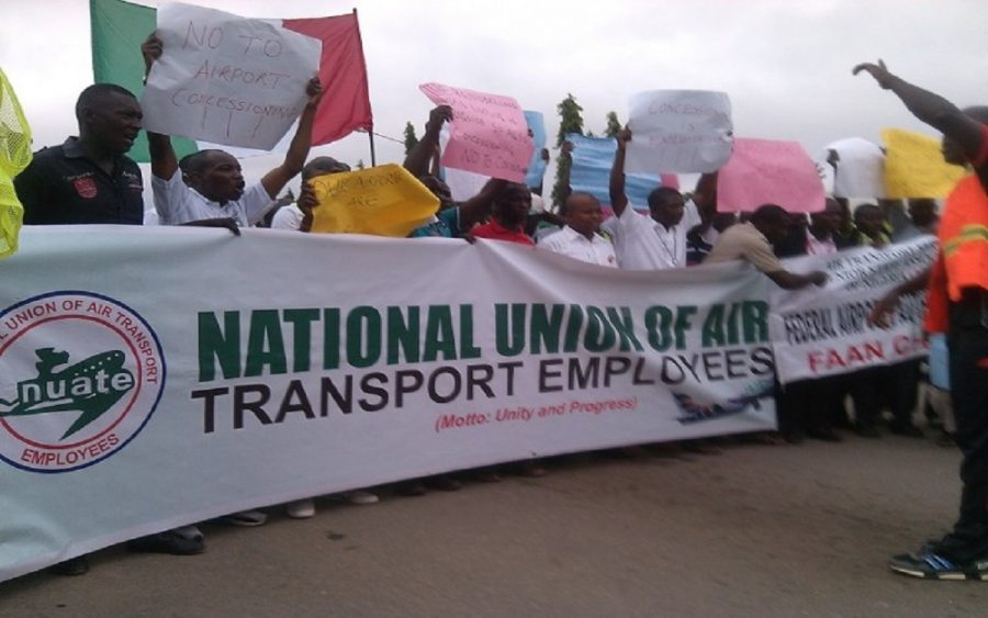 Aviation Unions threaten to shut airspace on Monday, as NLC insists on strike