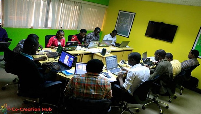 Co-creation Hub, Yaba , Lagos, Nigeria.