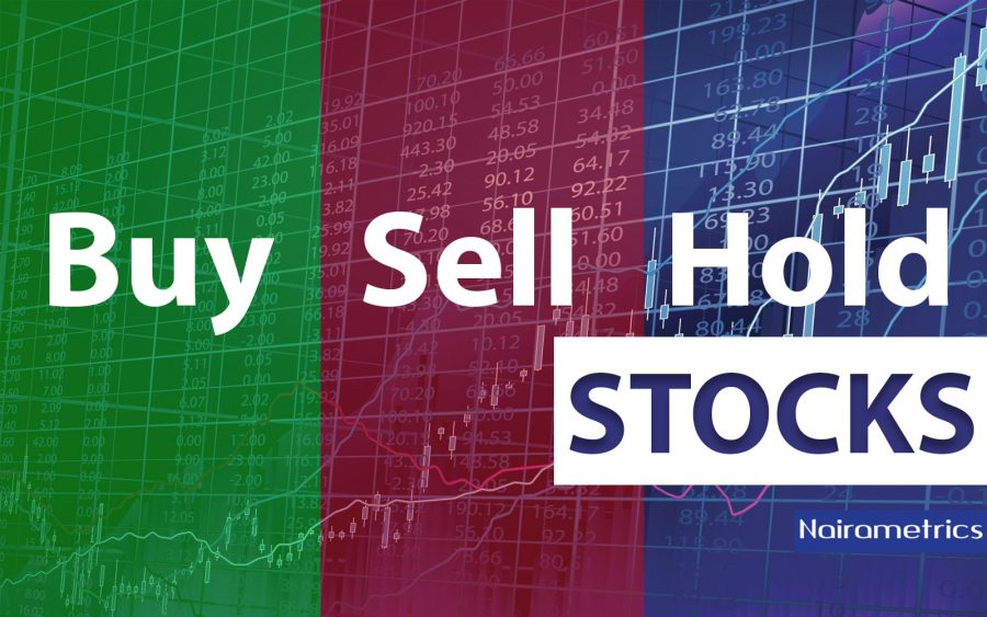 Nigerian stocks, Buy Sell Hold, results