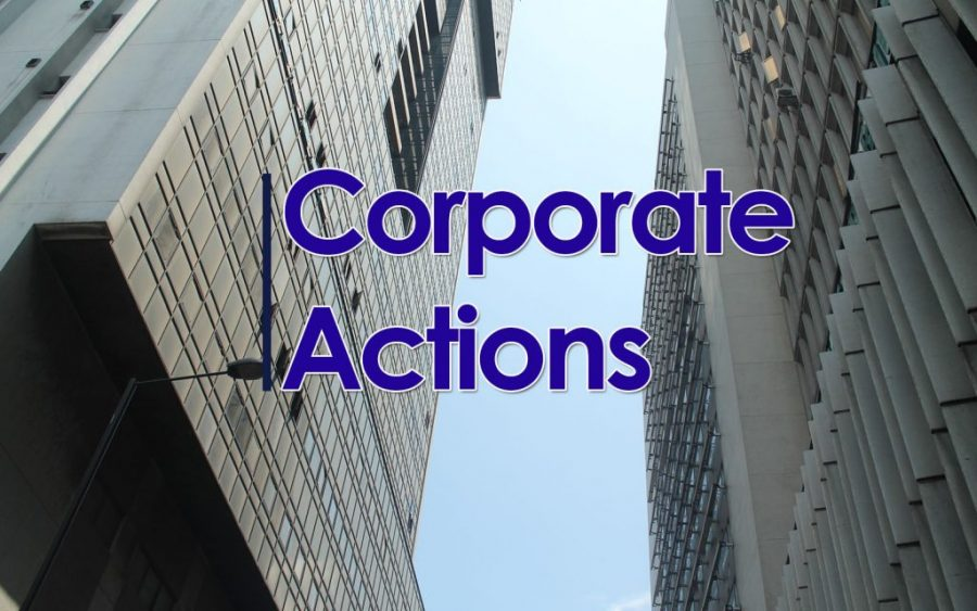 Corporate Actions, NSE