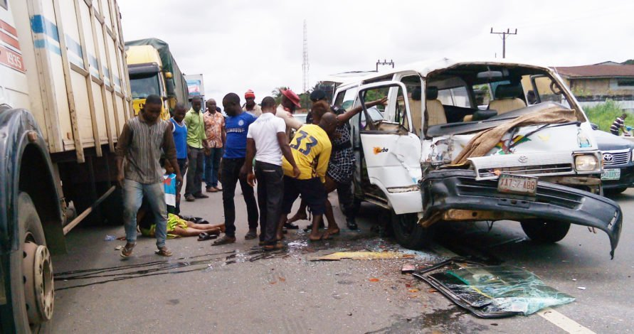Nigeria's road accident Victims up by 19% in 2018
