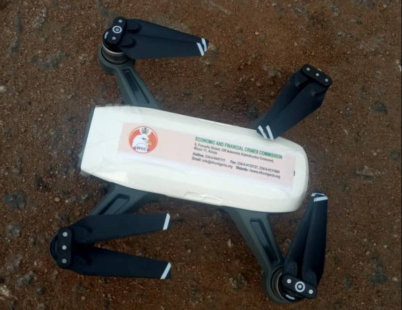 EFCC has begun the use of drones but there is a problem..