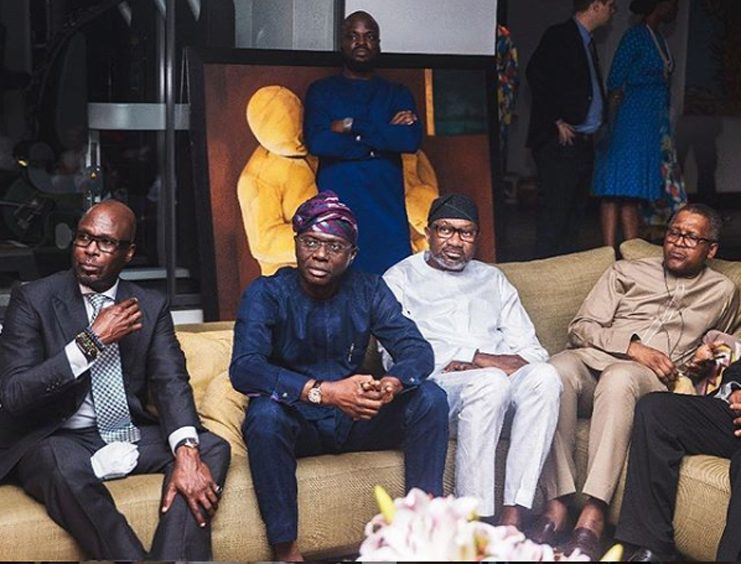 Successful Circle: Femi Otedola, Aliko Dangote, and others chill together