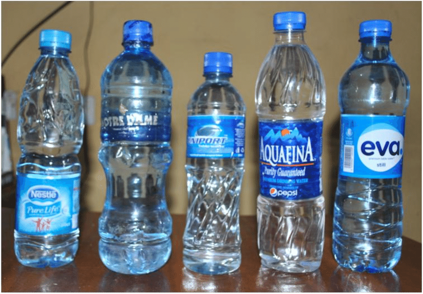 Table water in Nigeria.... Source; Research Gate