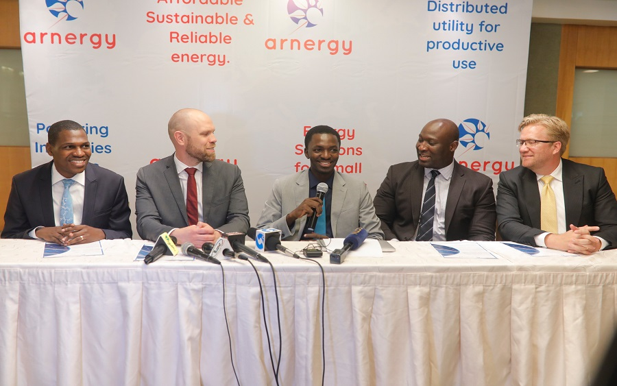 Arnergy, Norwegian Investment Fund for Developing Countries, Norfund, EDFI ElectriFI, All On
