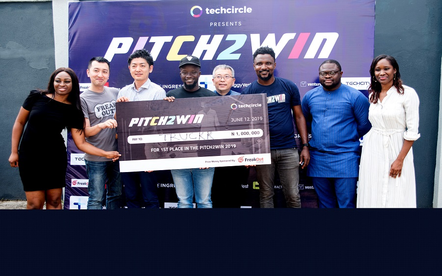 TrukrTech emerges winner at TechCircle's 2019 Pitch2Win competition