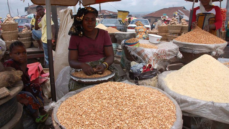 Food items sell cheapest at Mile 12, as traders lament high price of local rice
