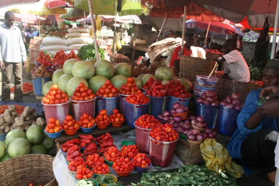 Nigeria's inflation rate and food price index