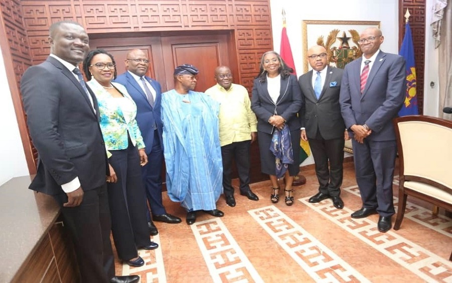 FBNHoldings, FBNBank Ghana call on Prez Akufo-Addo