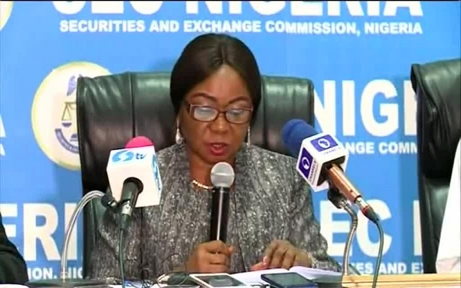 Like Oando, SEC investigates, SEC's e-dividend mandate criticised for being difficult  Lafarge Africa, Do not put all your eggs in one basket - SEC warns investors , E-Dividend: 2.820 million investors enrolled on e-DMMS in Q3'19, SEC reaffirms commitment to promote Commodities Trading, SEC threatens to suspend outdated accounts, move to address unclaimed dividends, Wonder bank clampdown: Ponzi scheme operators lose N2.35 billion assets to SEC. SEC to strictly regulate crowdfunding, issues new rules