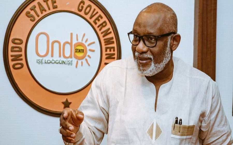 Spanish firm to meet Akeredolu over Ondo deep seaport project, Toll gate to be constructed along Akure-Ado road, Akeredolu says