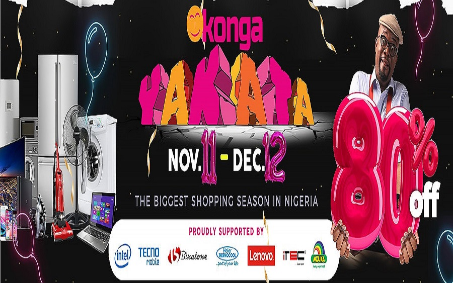 Konga Yakata goes live as shoppers deny sleep to grab mega deals