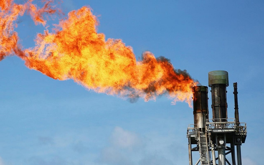 gas flaring, Gas flaring: A never-ending dark tunnel