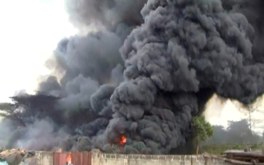 Gas tanker explodes in Lagos, Abule-Egba pipeline explosion: NNPC reacts, as over 45,000 incidents recorded in 18 years