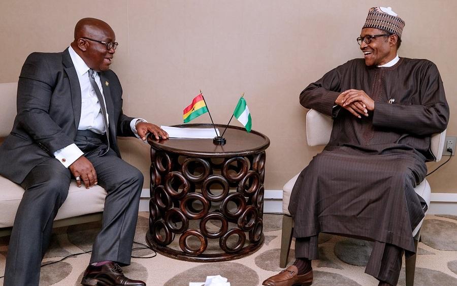 Ghanaian president begs Buhari to open border