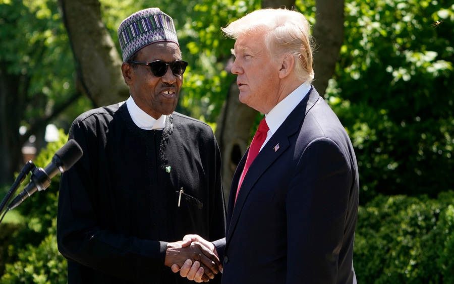 US Travel Ban on Nigerians: Buhari says it's mere speculation, Pres. Buhari sets up committee in response to US travel ban on Nigerians , The United States and Nigeria hold talks on commercial and investment dialogue in Washington D.C