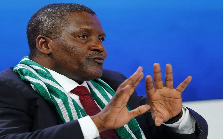 Dangote Industries targets $30 billion turnover by 2022 , Dangote to now export cement from Congo as Nigeria keeps borders closed