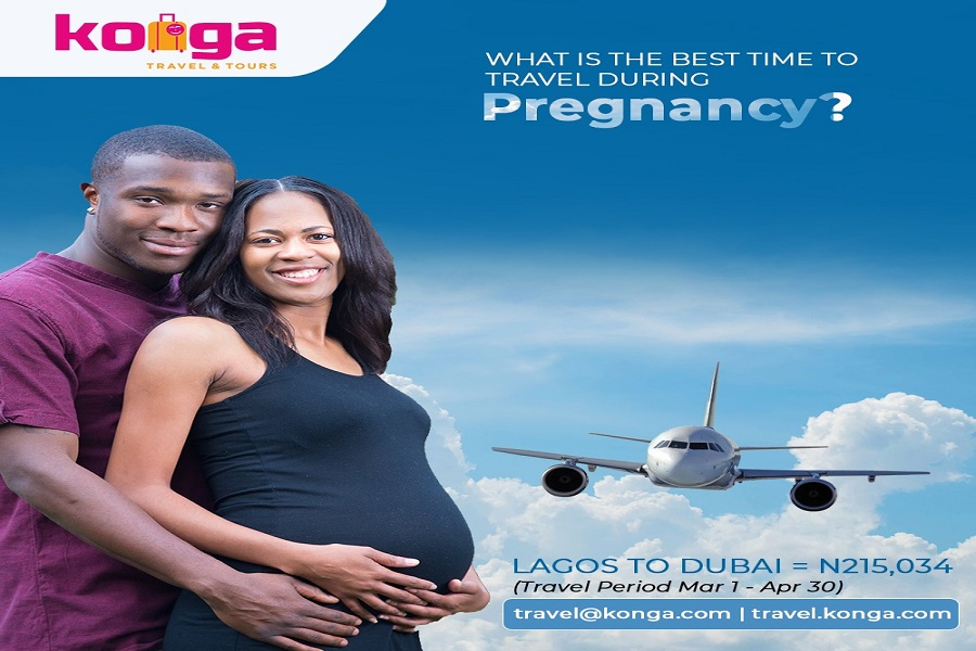 Konga Travel advises best time to travel for pregnant women