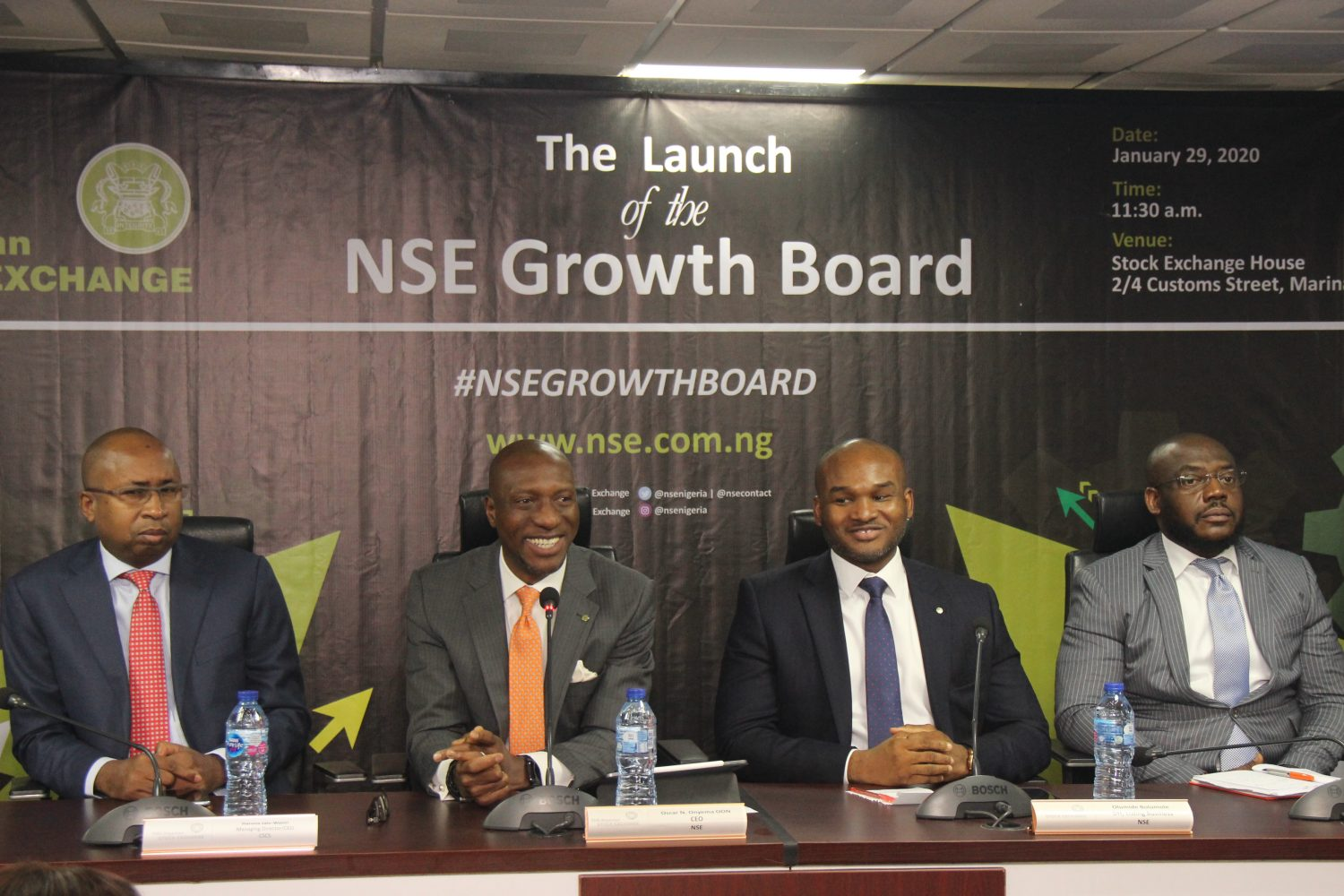 NSE launches Growth Board to attract SMEs with growth potentials