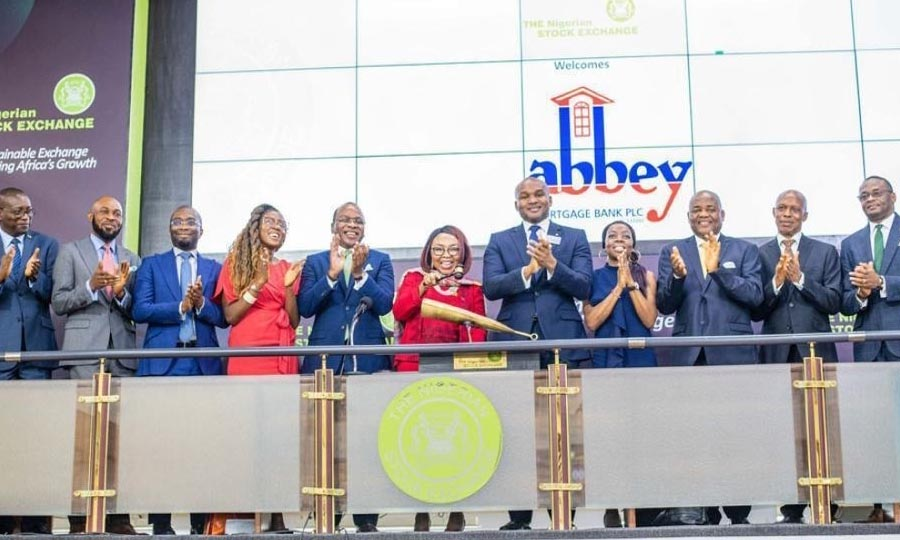 Abbey mortgage bank plc, Bell Ringing Ceremony