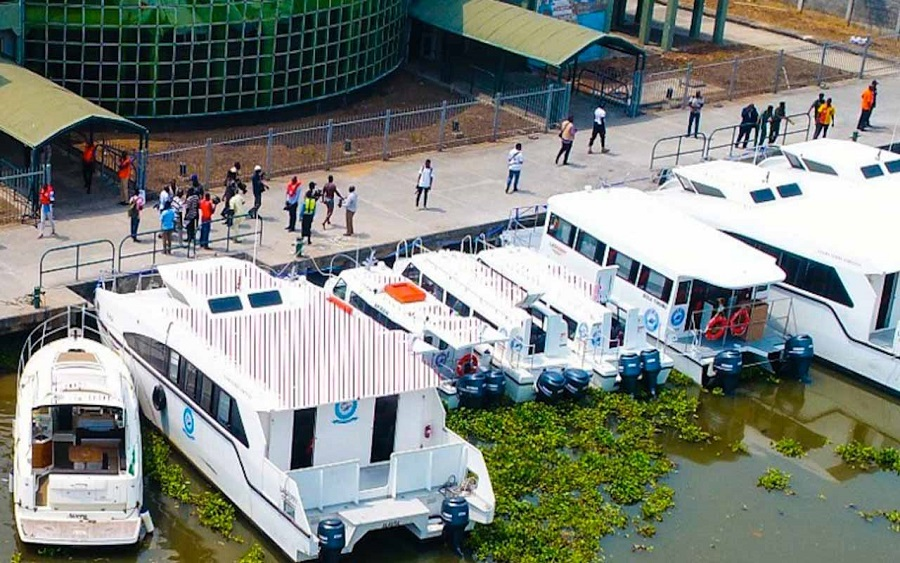 Lagos launches 14 ferries to tackle gridlock, says Okada ban irreversible