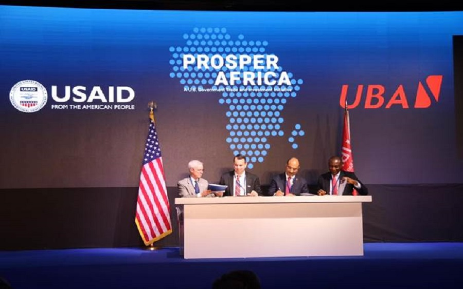 USAID, United Bank for Africa sign memorandum of understanding to advance the two-way trade and investment goals of prosper Africa