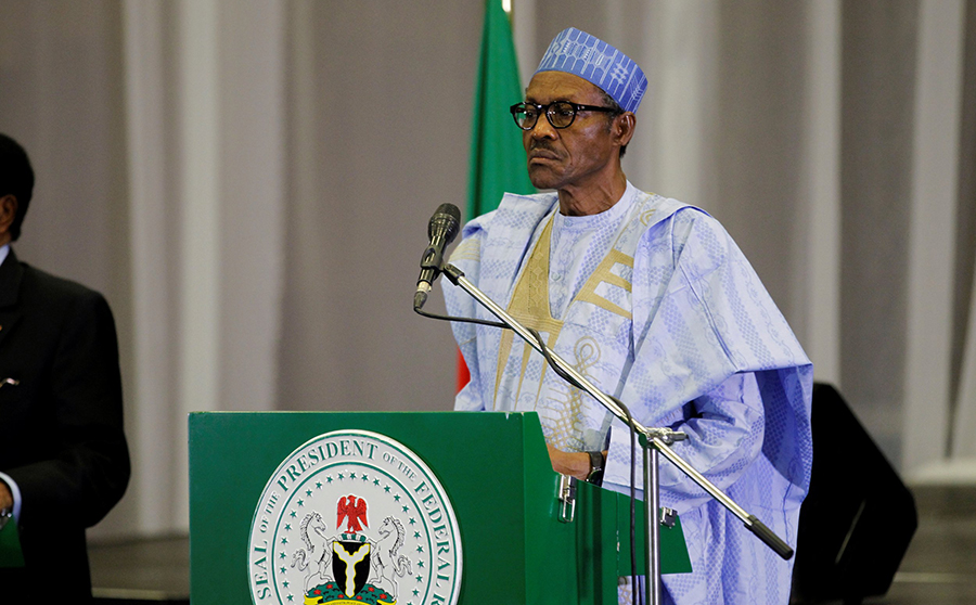 COVID-19: President imposes lockdown on three states, Africa day 2020: Buhari urges economic groups, CSOs and private sectors to drive peace for economic development