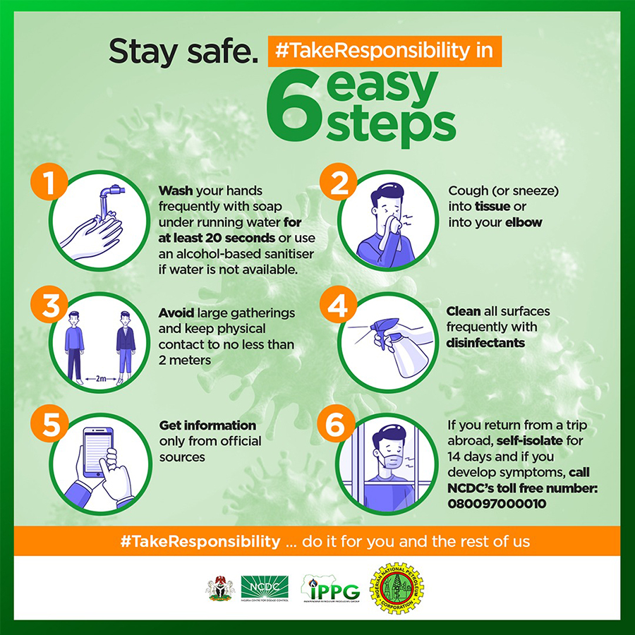 NCDC and NNPC-IPPG reinforce #TakeResponsibility theme with multi-lingual campaign