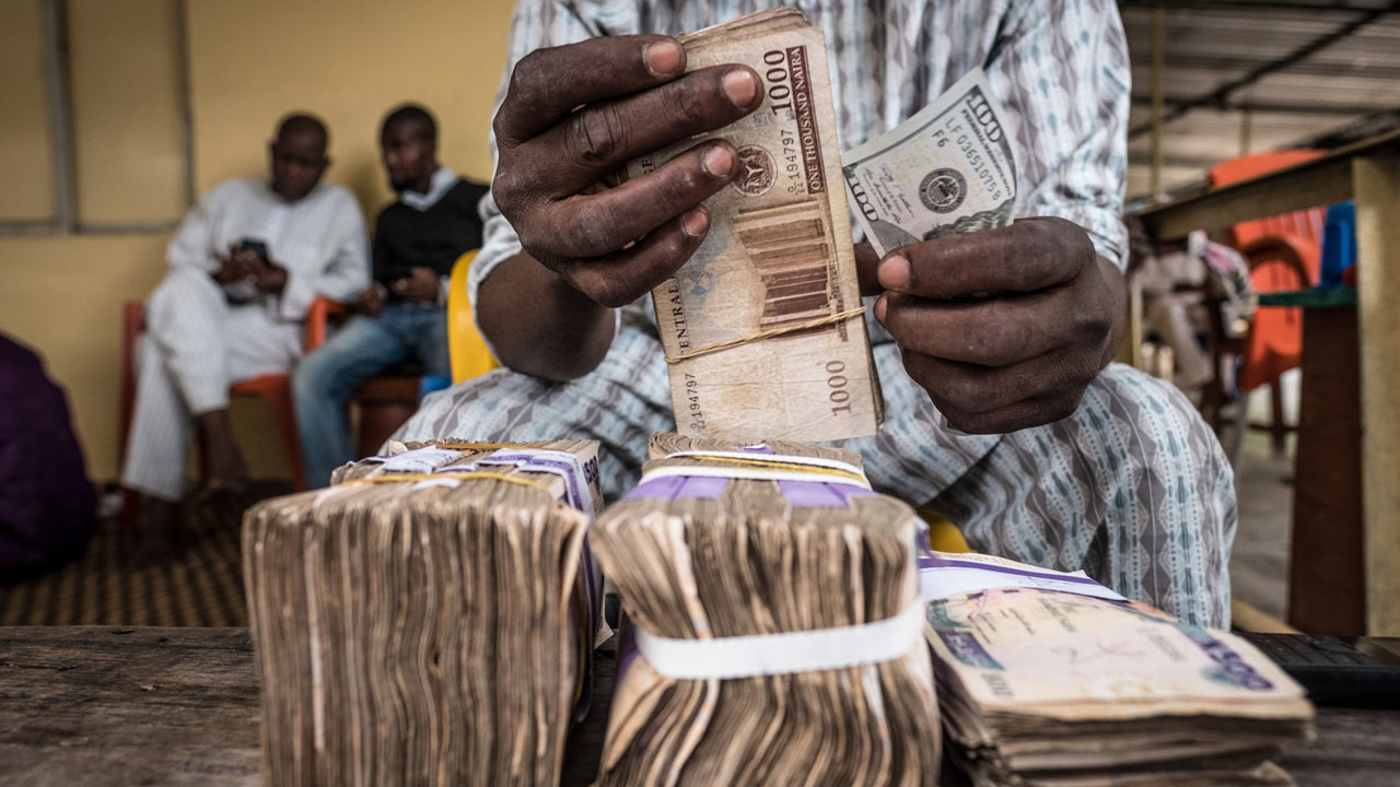 Naira Falls At The Black Market Despite
