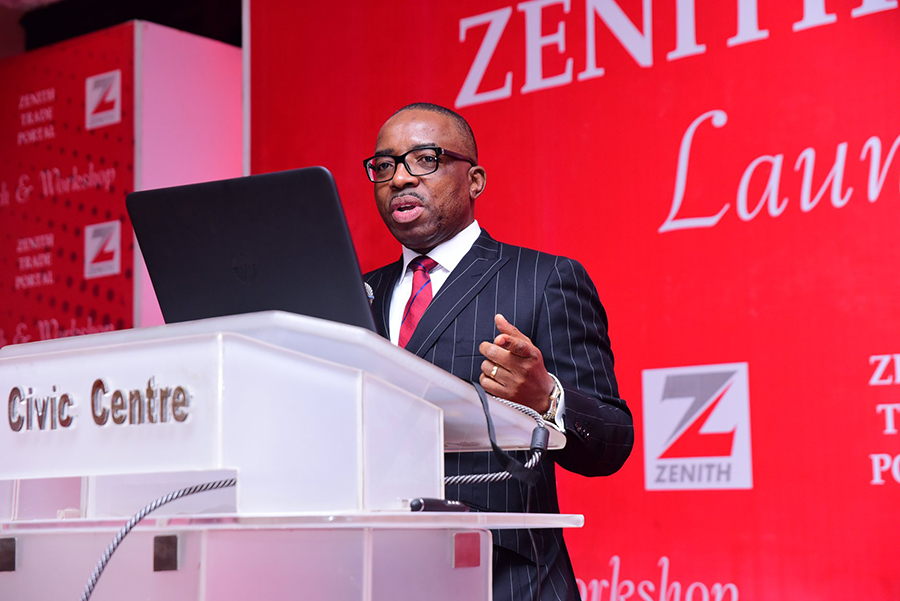 Zenith Bank GMD and CEO Mr. Ebenezer Onyeagwu, One year as CEO of Zenith bank, stocktaking