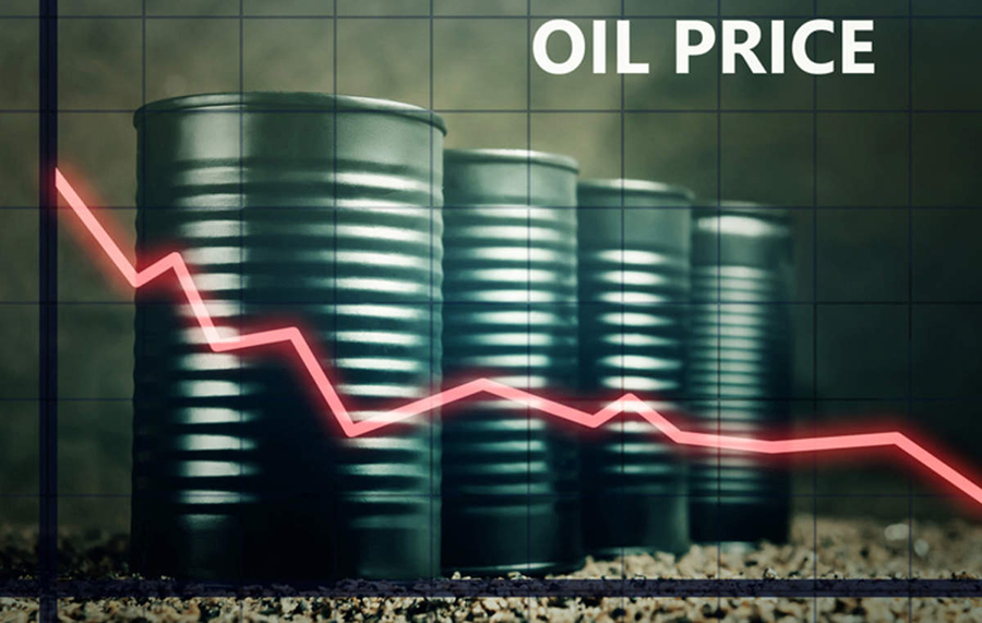 What is holding oil price?