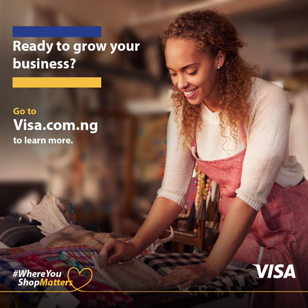 Visa launches new 'Where You Shop Matters' initiative to support Small Businesses in Nigeria