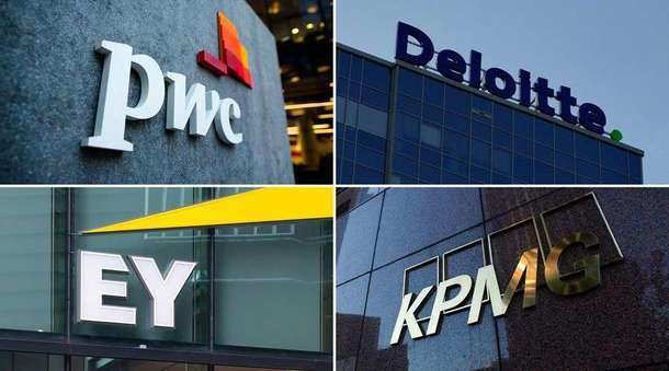 Big 4 earn N 7.53 billion auditing Nigeria's biggest companies, PWC, KPMG, Deloitte