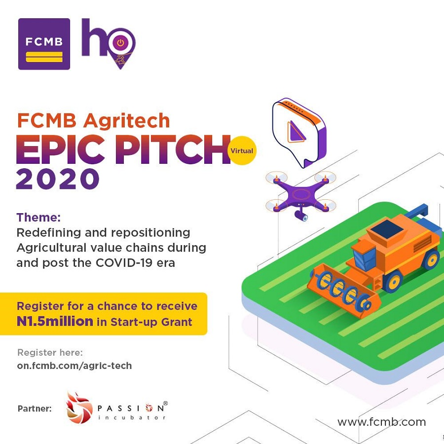 First City Monument Bank announces the FCMB Agritech EPIC Pitch ...
