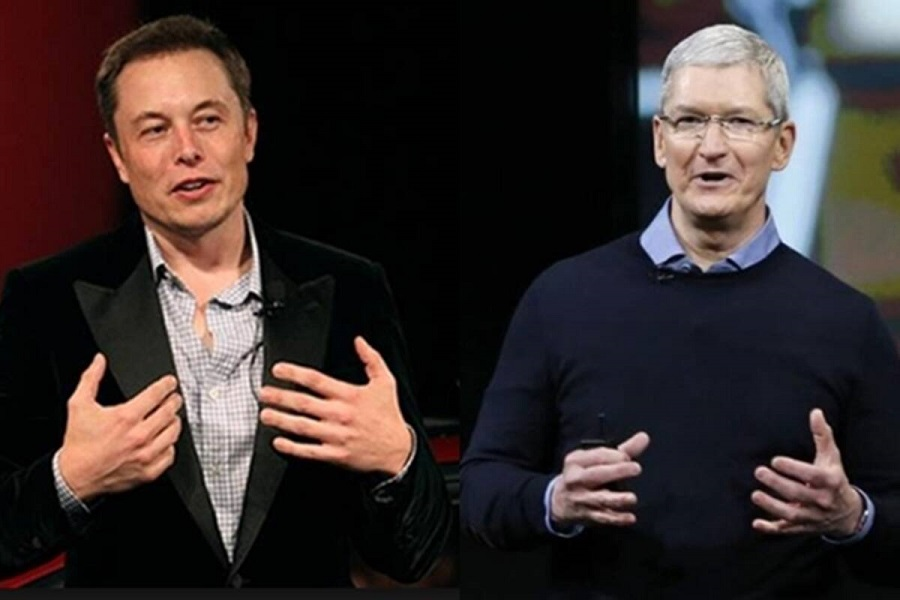 Apple, Tesla share prices drop massively from record highs