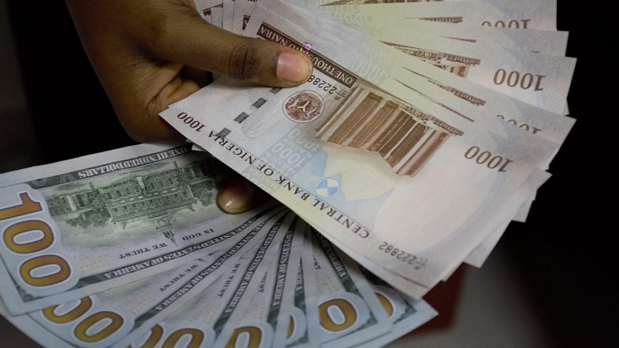 Naira, Exchange rate falls across forex markets as dollar liquidity remains low