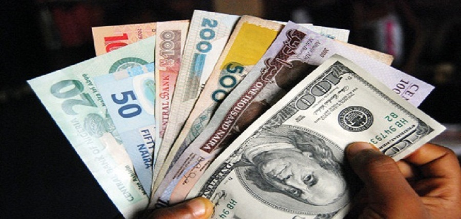 Naira, dollar, CBN, Exchange rate falls across forex markets despite improved dollar supply