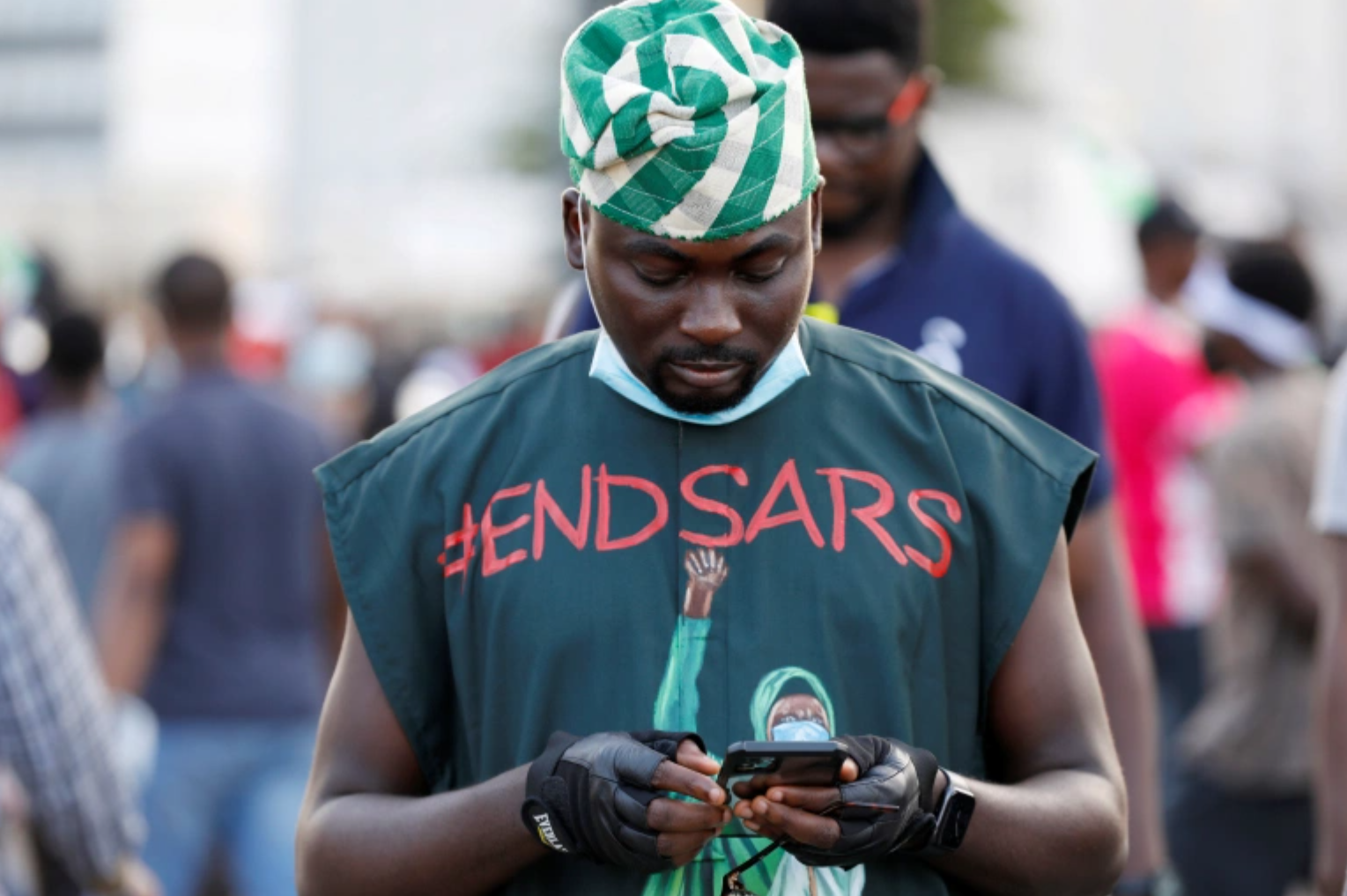 GSM firms set to rake in billions from data guzzling #ENDSARS Protesters