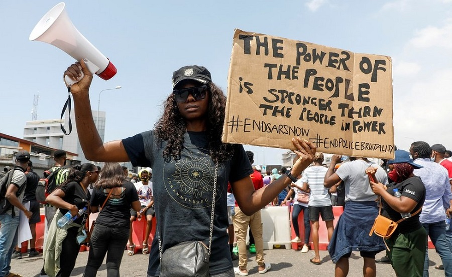 #EndSARS: Feminist Coalition raise Cryptos worth $126,000, #EndSARS: Protesters launch helpline centre, online radio platform, 'Soro Soke', EndSARS Protest: Feminist Coalition group raise additional N31 million crowdfund in four days