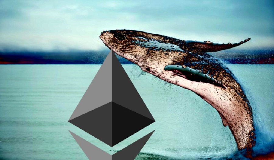 Unknown identity moves $117 million worth of Ethereum