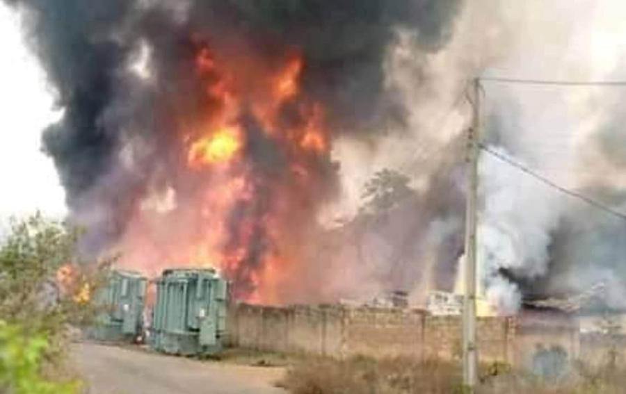 Inferno raze down SUBEB office in Ondo state