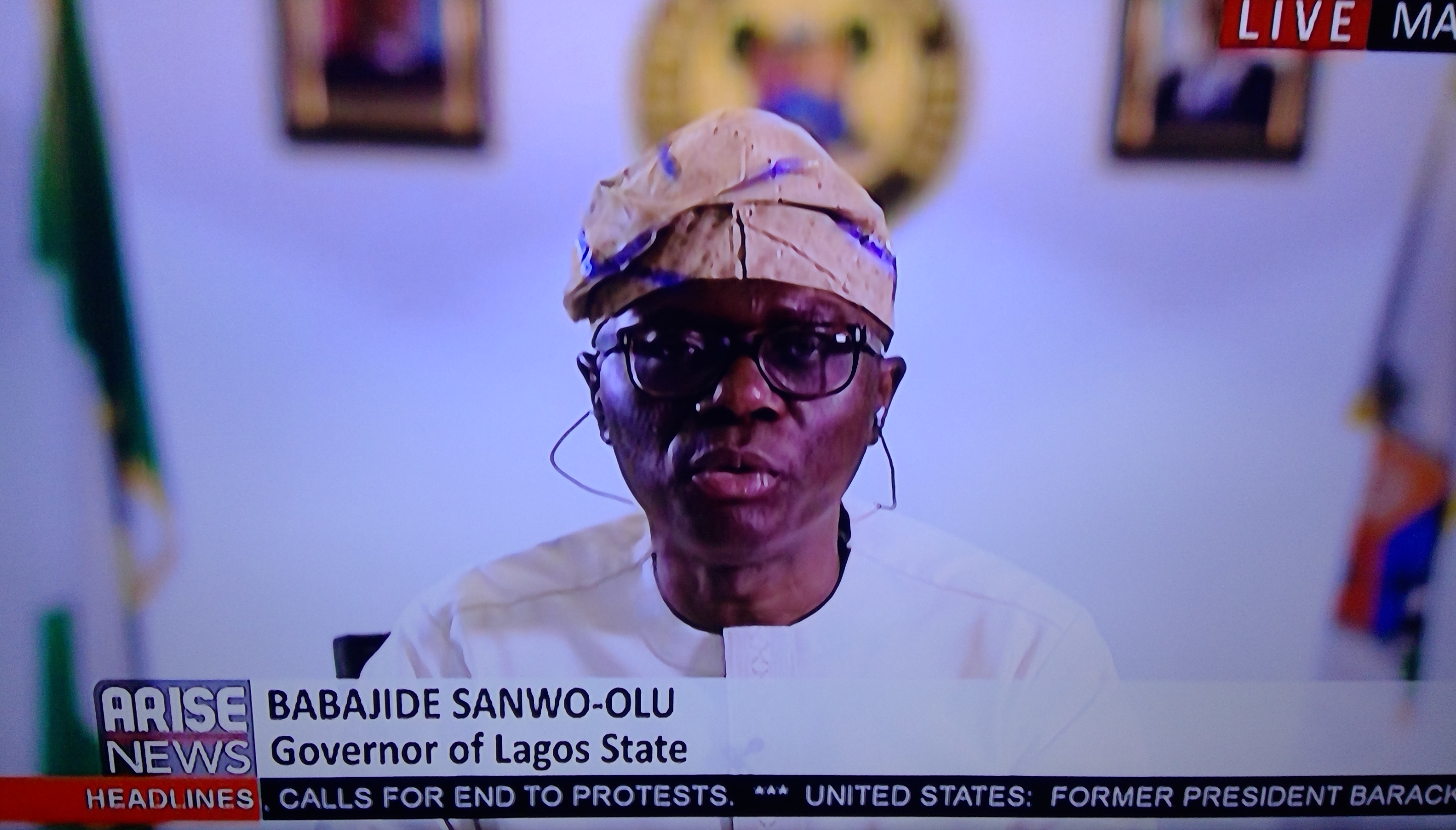 Sanwoolu says curfew may be partially lifted