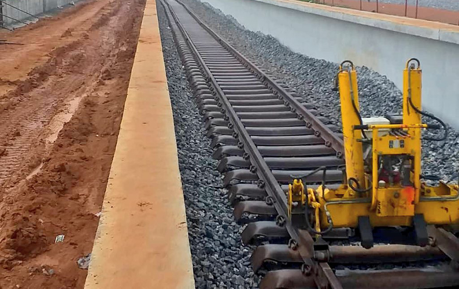 Ebute Metta Railway Station is 99% ready- Presidency