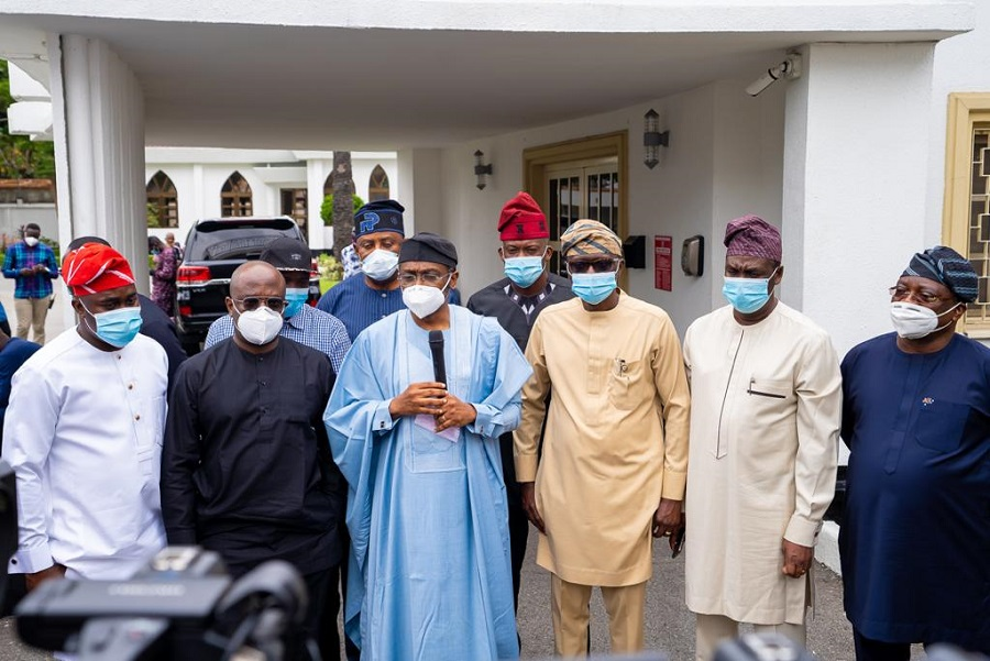 South-West Governors say attacks in Lagos were attempts to weaken the region's economy